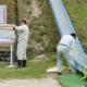 パンチラ!?ケツがズルムケになる日本一危険な滑り台が再び使用禁止に!