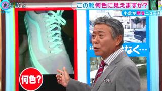 【とくダネ!】不思議!この靴何色に見えますか!?ネットで話題!
