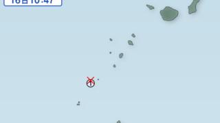 【地震】トカラ列島近海で18連発の地震!頻発する地震は終わりへのフラグなのか?
